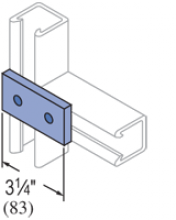 F20P/V-2500, F20P/V-2800(grooved) - 2 Hole, Flat Plate Fiberglass Fitting