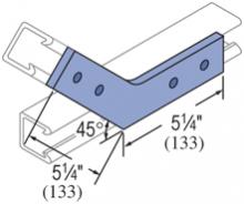 F20P/V-2540, F20P/V-2840(grooved) - 4 Hole, Flat Plate Fiberglass Fitting