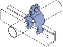 FPCR-050 thru FPCR-800 - Fiberglass Rigid Pipe Clamps
