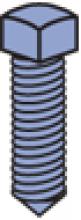 "Cone Point Set Screw (1-5/8"" Series)"