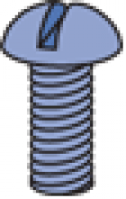 """Pan Head Screw (1-5/8"""" Series)"""