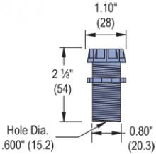 P2603 - Fixture Wiring Nipple