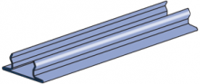 "P3184 - 1-5/8"" x .040"" Closure Strip"
