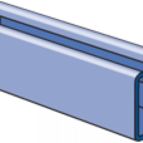 """A1000 - 1-1/4"""" x 1-1/4"""", 14 Gage Channel"""