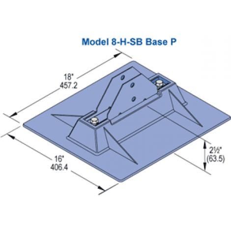 Model 8 H Sb Base P Unistrut Hawaii Honolulu Hawaii