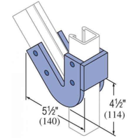F50PU-2045 - Fiberglass Fitting