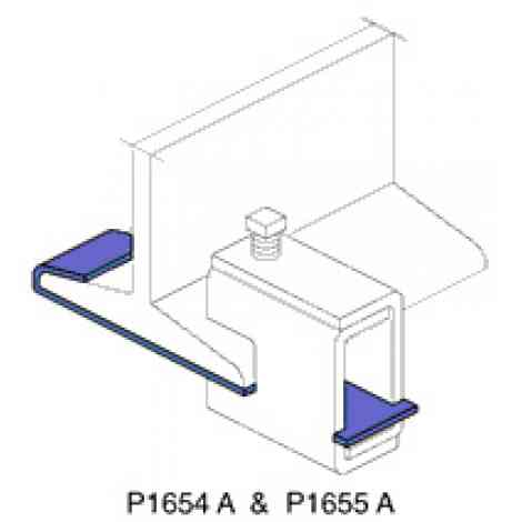 P1656A thru P1661A - Beam Clamp Retainer Strap | Unistrut