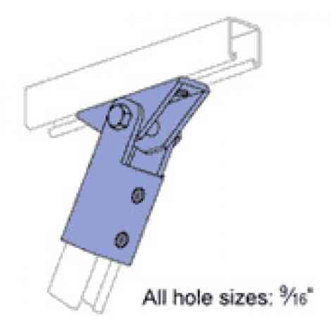 P2815 Adjustable Brace Fitting Unistrut Hawaii
