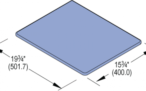 Support Pad, Polycarbonate