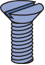 "Countersunk Head Screw (1-5/8"" Series)"