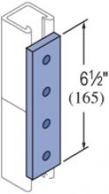 F20P/V-2504, F20P/V-2804(grooved) - 4 Hole, Flat Plate Fiberglass Fitting