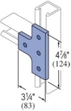 F20P/V-2512, F20P/V-2812(grooved) - 4 Hole, Flat Plate Fiberglass Fitting