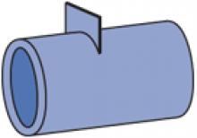 F50PU-500SP - Polyurethane Channel Spacer