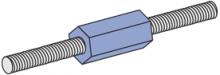 F200 Series - Fiberglass A-Konnector Rod Couplers