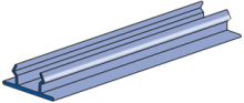 P3184P - Plastic Closure Strip